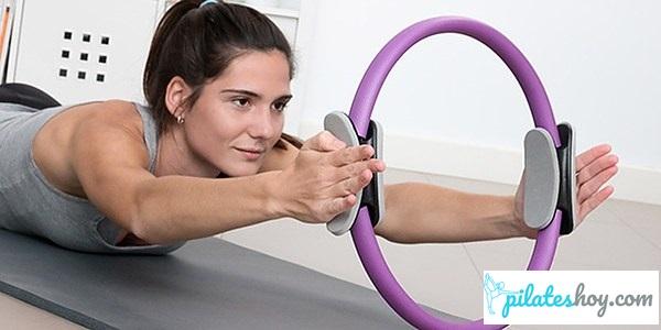 ejercicios con aro de pilates para brazos