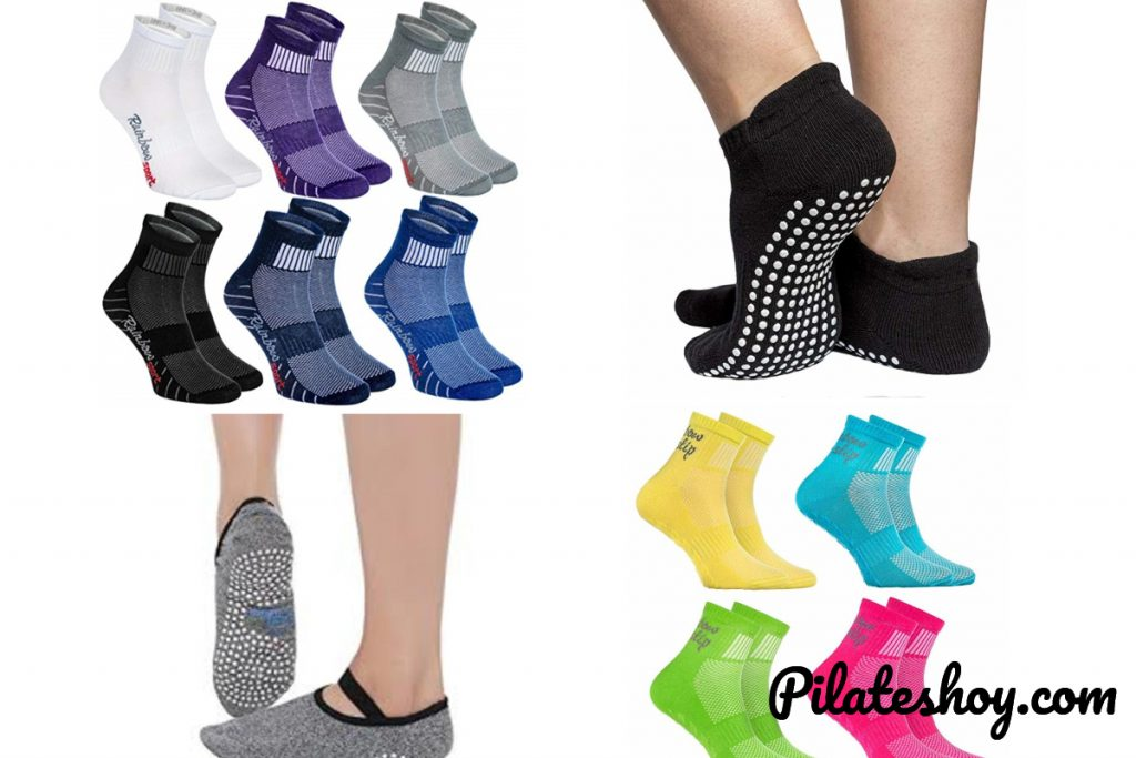 calcetines antideslizantes pilates
