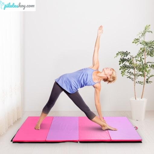 tabla de ejercicios de pilates para hacer en casa