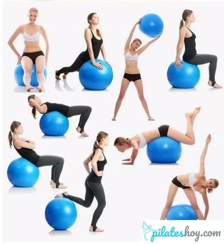ejercicios con pelota pequeña