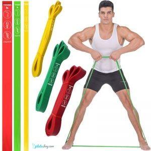 ejercicios pilates con banda elástica