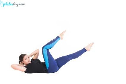 ejercicios de pilates para abdomen
