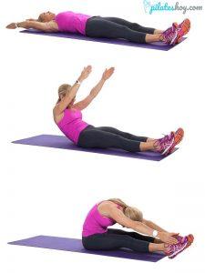 ejercicios de pilates para principiantes en casa