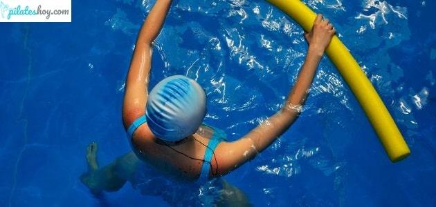 aqua pilates ejercicios