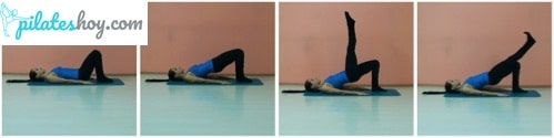 shoulder bridge pilates beneficios