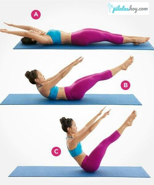 teaser pilates ejercicios