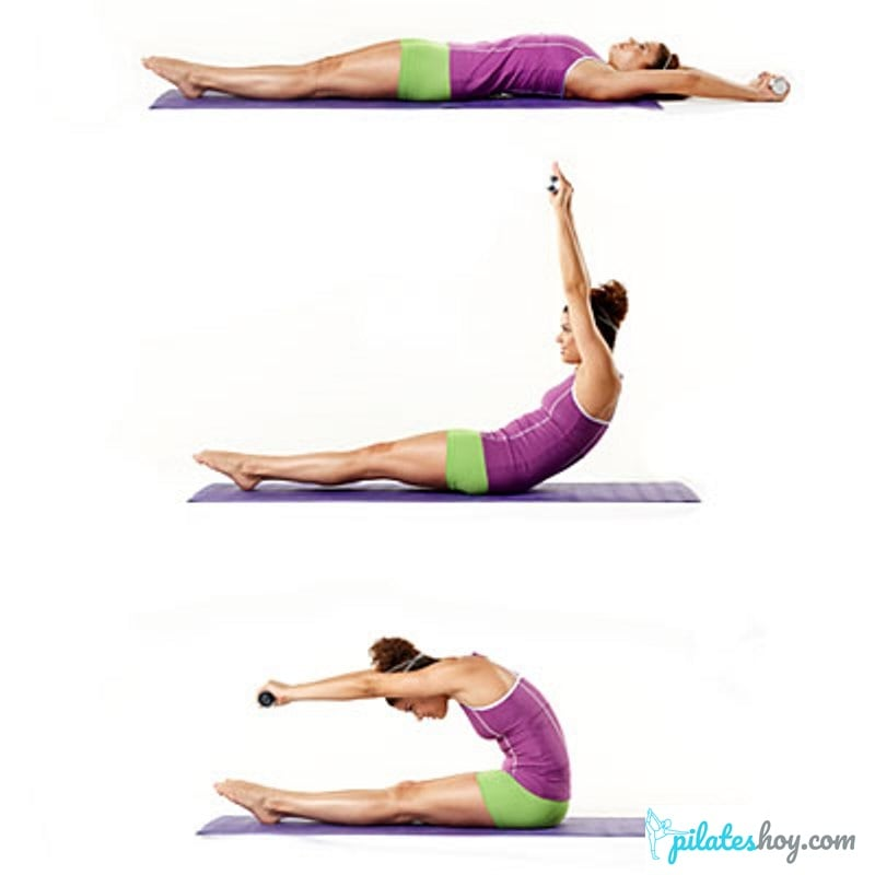 ejercicio roll up pilates