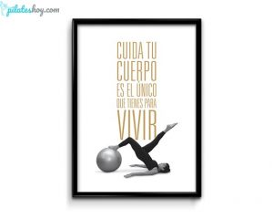 poster pilates ejercicios