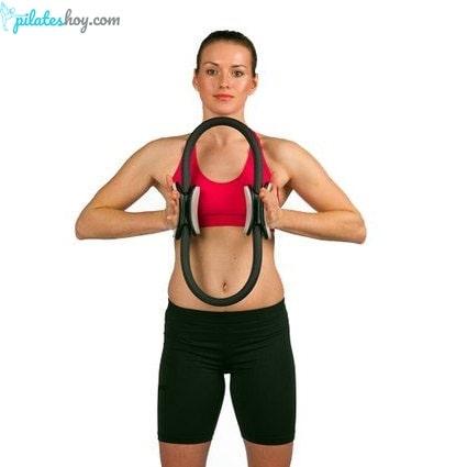 ejercicios con aro de pilates